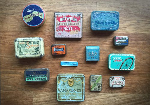 antique tins collectable