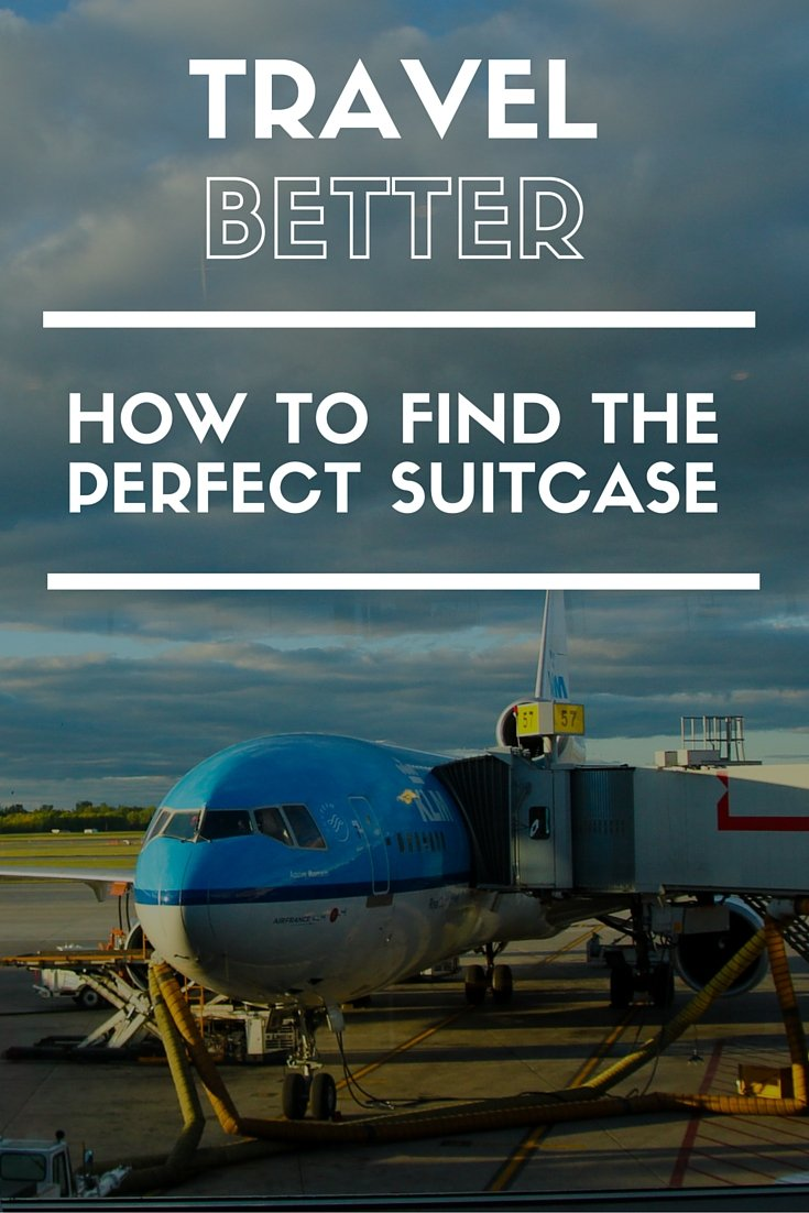 Find the perfect suitcase