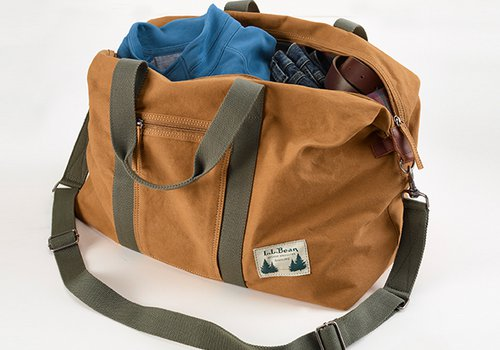 LL Bean Canvas Duffle